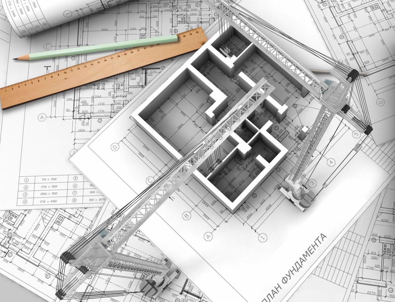 Разработка проектов конструктивной части