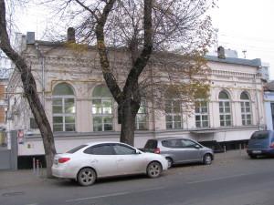 Здание спортзала